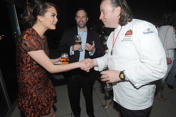 Chrissy Teigen GQ Derby Style Event Presented By Stella Artois