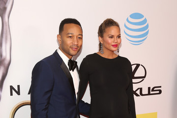 Chrissy Teigen 47th NAACP Image Awards Presented By TV One - Red Carpet