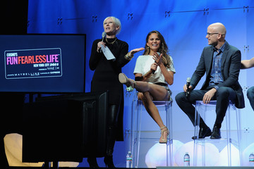 Chrissy Teigen Cosmopolitan Magazine's Fun Fearless Life Conference Powered By WME Live - Day 1