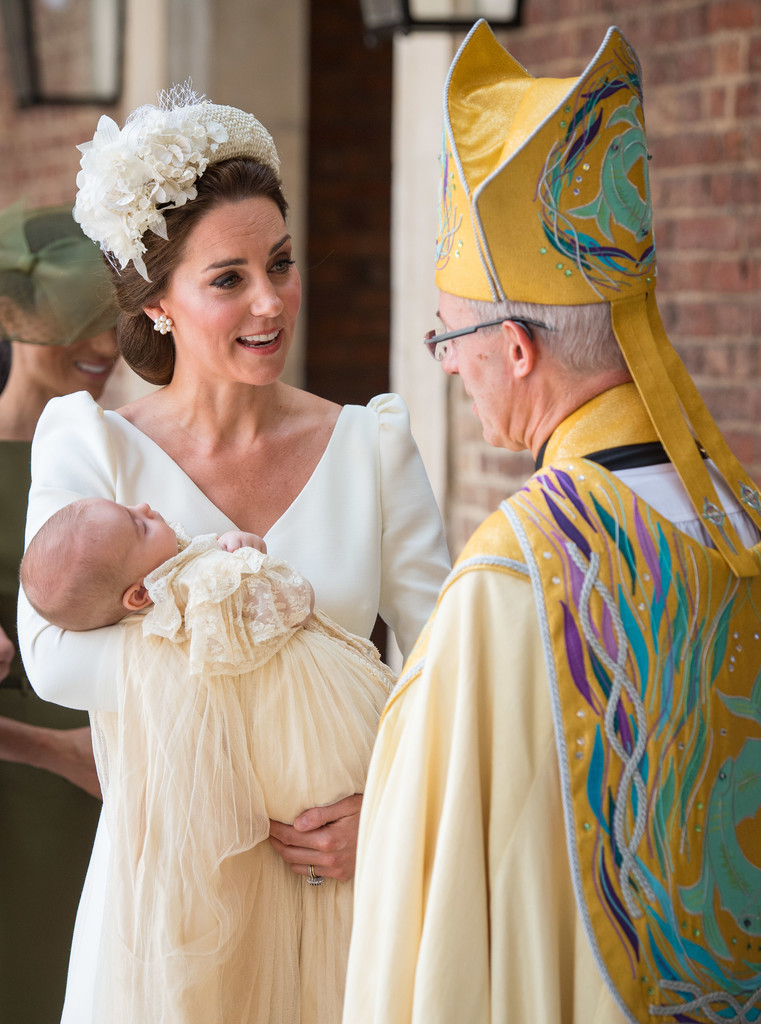 Prince William And Duchess Kate Just Made Their First Appearance As A Family Of Five At Prince Louis's Christening