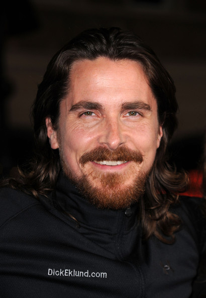 Christian Bale Actor Christian Bale arrives at Paramount Pictures'