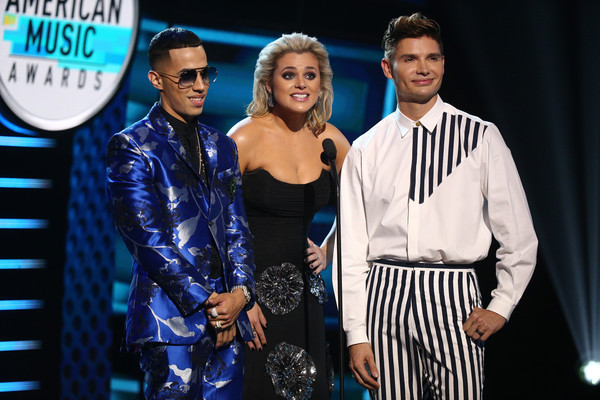 2018 Latin American Music Awards - Show [event,performance,fashion,fashion design,talent show,performing arts,formal wear,competition,dance,award,brytiago,christian acosta,isabella castillo,latin american music awards,l-r,california,hollywood,dolby theatre,show]