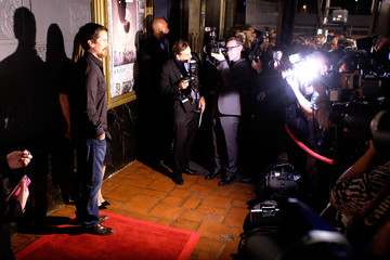 Christian Bale Premiere of Broad Green Pictures' 'Knight of Cups' - Arrivals