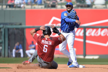 Christian Colon Arizona Diamondbacks v Kansas City Royals