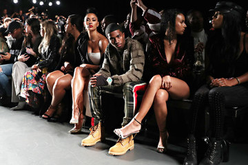 Christian Combs Breah Hicks Laquan Smith - Front Row - September 2018 - New York Fashion Week: The Shows