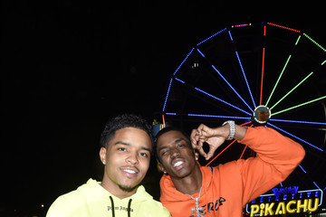 Christian Combs Justin Combs The Levi's Brand Presents Neon Carnival With Bondi Sands And POKÉMON: Detective Pikachu