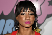 Monique Coleman attends the Christian Cowan x The Powerpuff Girls fashion show at City Market Social House on March 08, 2019 in Los Angeles, California.