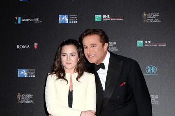 Christian De Sica 60. David Di Donatello - Arrivals