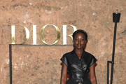 Lupita Nyong'o attends the Christian Dior Couture S/S20 Cruise Collection on April 29, 2019 in Marrakech, Morocco.