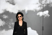 Bianca Jagger attends the Christian Dior  Haute Couture Fall/Winter 2019 2020 show as part of Paris Fashion Week on July 01, 2019 in Paris, France.