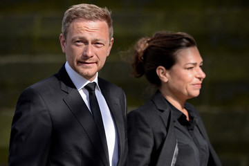 Christian Lindner Funeral for Guido Westerwelle
