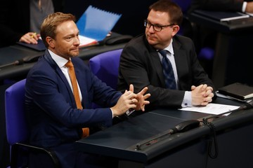 Christian Lindner Bundestag Meets for First Time Since Coalition Failure