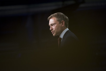 Christian Lindner FDP Political Party Holds Federal Congress