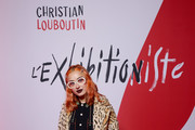 Miranda Makaroff attends the Exhibition Opening of L'Exibition[niste] by Christian Louboutin as part of Paris Fashion Week Womenswear Fall/Winter 2020/2021 on February 24, 2020 in Paris, France.