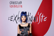 Sita Abellan attends the Exhibition Opening of L'Exibition[niste] by Christian Louboutin as part of Paris Fashion Week Womenswear Fall/Winter 2020/2021 on February 24, 2020 in Paris, France.