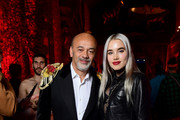 Christian Louboutin and Isamaya Ffrench attends the Loubicircus Party by Christian Louboutin at Musee des Arts Forains as part of Paris Fashion Week on June 19, 2019 in Paris, France.