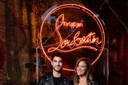 Darren Criss and Mia Swier attend the Loubicircus Party by Christian Louboutin at Musee des Arts Forains as part of Paris Fashion Week on June 19, 2019 in Paris, France.