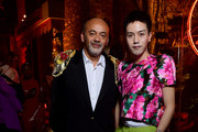 Christian Louboutin and Dipsy attend the Loubicircus Party by Christian Louboutin at Musee des Arts Forains as part of Paris Fashion Week on June 19, 2019 in Paris, France.