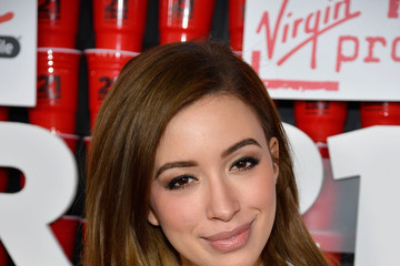 "Christian Serratos Premiere Of Relativity Media's ""21 and Over"" - Red Carpet"