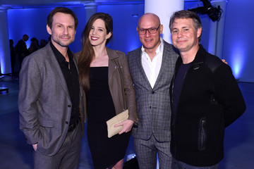 Christian Slater Brittany Lopez The New York Times International Luxury Conference Speaker Dinner Presented By Mercedes-Benz