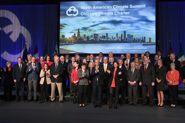 Christiana Figueres Chicago Hosts Mayors at North American Climate Summit