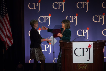 Christiane Amanpour Committee to Protect Journalists Holds Annual Int'l Press Freedom Awards