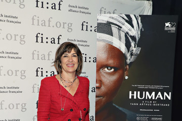Christiane Amanpour Special Screening of 'Human' in the Presence of Francois Hollande, Directed by Yann Arthus-Bertrand