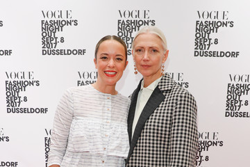 Christiane Arp Peek & Cloppenburg At Vogue Fashion's Night Out In Duesseldorf