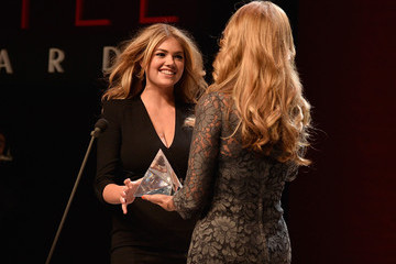 Christie Brinkley Kate Upton MBFW: 10th Annual Style Awards