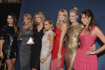 Christie Brinkley Kate Upton MBFW: Press Room at the 10th Annual Style Awards