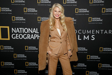 "Christie Brinkley Special Screening Of National Geographic's Oscar-Nominated Documentary ""The Cave"" With Film Subject Dr. Amani Ballour"