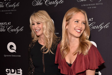 Christie Brinkley Sailor Lee Brinkley Cook Guests Attend The 'Always At The Carlyle' Premiere In NYC