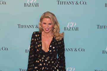 Christie Brinkley Harper's BAZAAR 150th Anniversary Event Presented With Tiffany & Co at the Rainbow Room - Arrivals