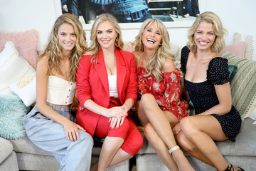 Christie Brinkley 2018 Sports Illustrated Swimsuit At PARAISO During Miami Swim Week, W South Beach - Model Casting Call Day 2