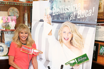 Christie Brinkley Christie Brinkley Celebrates the Launch of Her Prosecco, Bellissima, at Buca di Beppo at Universal Citywalk
