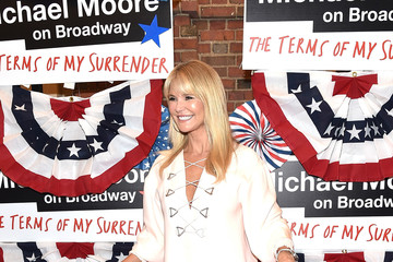 Christie Brinkley 'The Terms of My Surrender' Broadway Opening Night - Arrivals & Curtain Call
