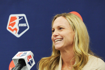 Christie Rampone Lifetime National Women's Soccer League Press Conference