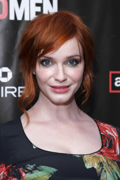 christina hendricks mad men. Christina Hendricks thinks