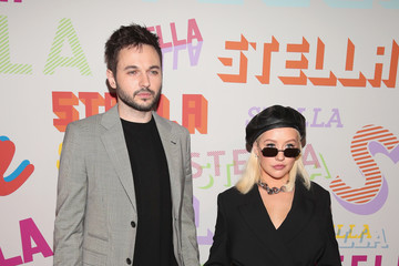 Christina Aguilera Matthew Rutler Stella McCartney's Autumn 2018 Collection Launch