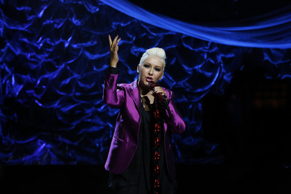 Christina Aguilera - NBCUniversal's Hurricane Sandy: Coming Together Relief Benefit