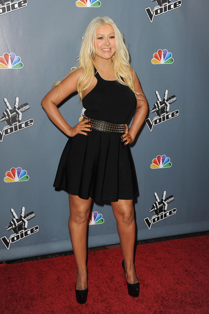 Whoa, Christina Aguilera Got a BreakUNDER Since Leaving the 'The Voice'