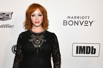 Christina Hendricks Marriott Bonvoy Moments At The 27th Annual Elton John AIDS Foundation Academy Awards Viewing Party Celebrating EJAF And The 91st Academy Awards - Arrivals