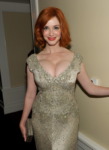 Christina Hendricks Actress Christina Hendricks attends the AMC After Party for the 63rd Annual EMMY Awards held at Mr. C Beverly Hills on September 18, 2011 in Beverly Hills, California.