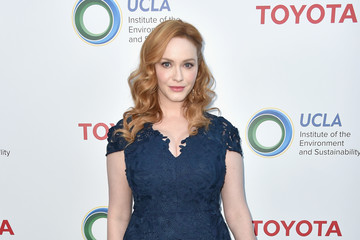 Christina Hendricks UCLA Institute Of The Environment And Sustainability Celebrates Innovators For A Healthy Planet - Arrivals