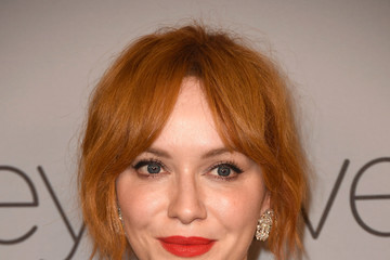 Christina Hendricks Warner Bros. Pictures And InStyle Host 19th Annual Post-Golden Globes Party - Arrivals