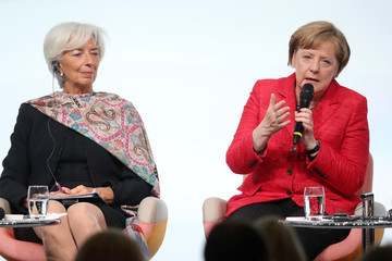 Christine Lagarde Ivanka Trump Attends W20 Conference In Berlin