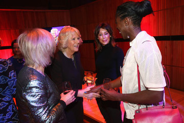 Christine Ohuruogu The Duchess Of Cornwall Attends A Reception In Support Of The Women Of The World Festival 2015