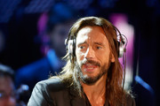 Bob Sinclar performs on stage during the Christmas Concert 2014 at Auditorium Conciliazione on December 13, 2014 in Rome, Italy.