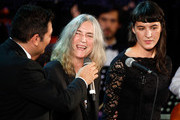 Patty Smith and her daughter Jesse Smith attend the Christmas Concert 2014 at Auditorium Conciliazione on December 13, 2014 in Rome, Italy.