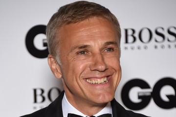 Christoph Waltz Guests Arrive at the GQ Men of the Year Awards